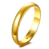 六喜珠宝 黄金戒指男女款